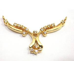 Blinger Beauty Diamond Necklace Pendants Necklaces