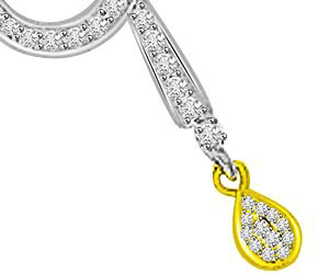 Encircled With Love 0.27ct Diamond Pendants