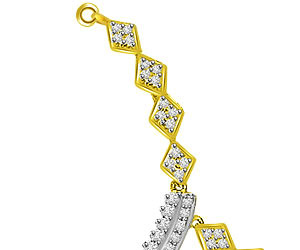 1.69ct Very Very Chic Gold & Diamond Necklace Pendants -Diamond Necklace