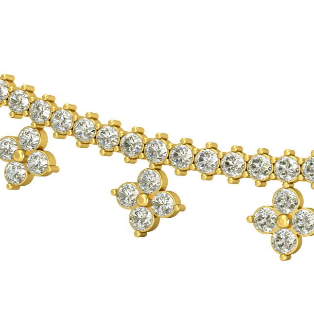 Marvelous Diamond Necklace Pendants DN435 Necklaces
