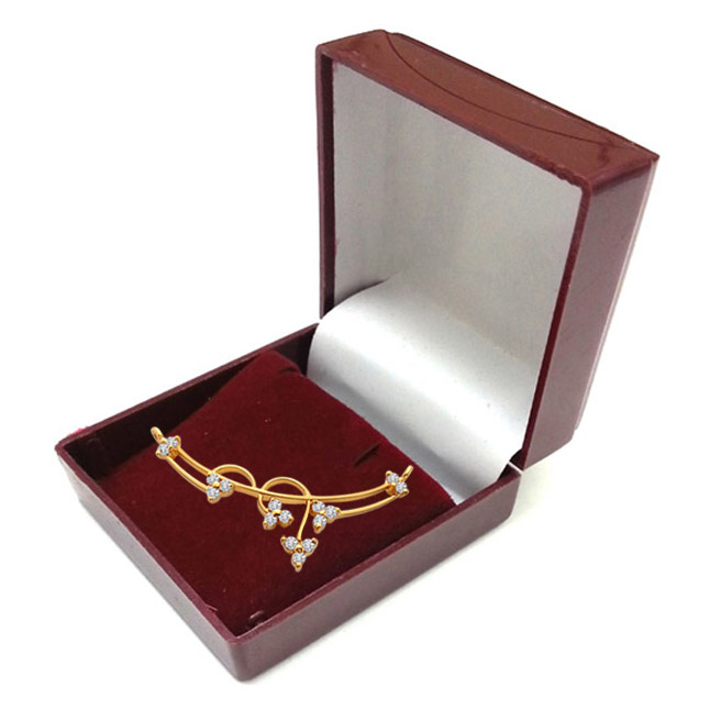 DN438 Brilliant Diamond & Gold Necklace Pendants Necklaces