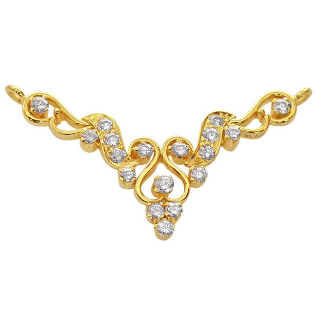 e93a8dddb Fairy Tale 0.45ct Diamond 18kt Gold Necklace Pendants Necklaces ...