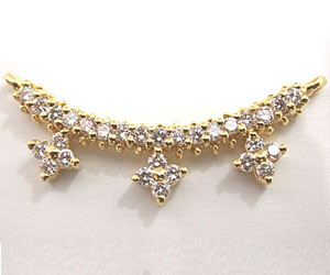 A Marvelous Diamond Necklace Pendants Necklaces