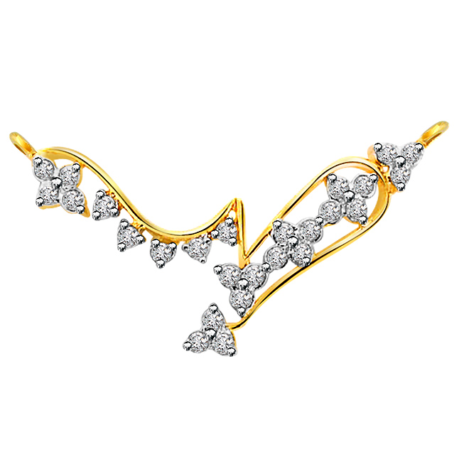 Royal Grace -Diamond Gold Necklace Pendants DN442 Necklaces