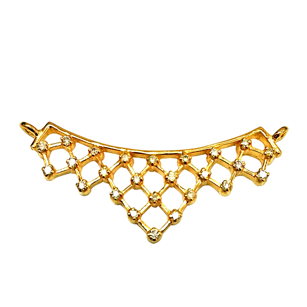 Soulmate Diamond Studded Necklace Pendants Necklaces