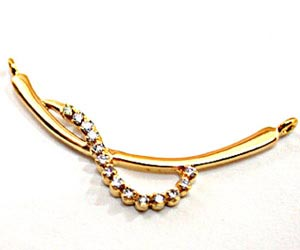A Simple Gold & Diamond Necklace Pendants Necklaces