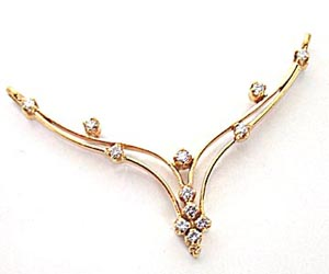 Diamond Necklace Pendants DN -55 Necklaces