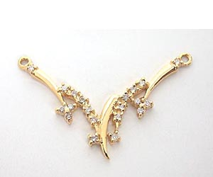 A Beautiful Diamond & gold Necklace Pendants DN66 Necklaces