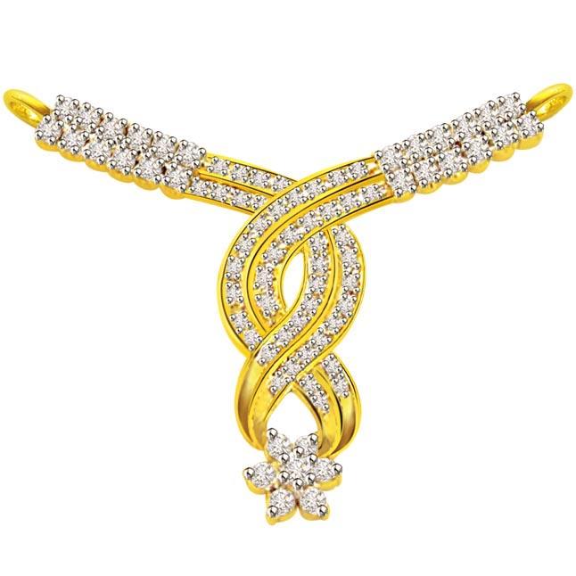 0.94 ct Diamond Necklace Pendants DN72