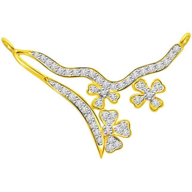 0.83 ct Diamond Necklace Pendants DN -73A