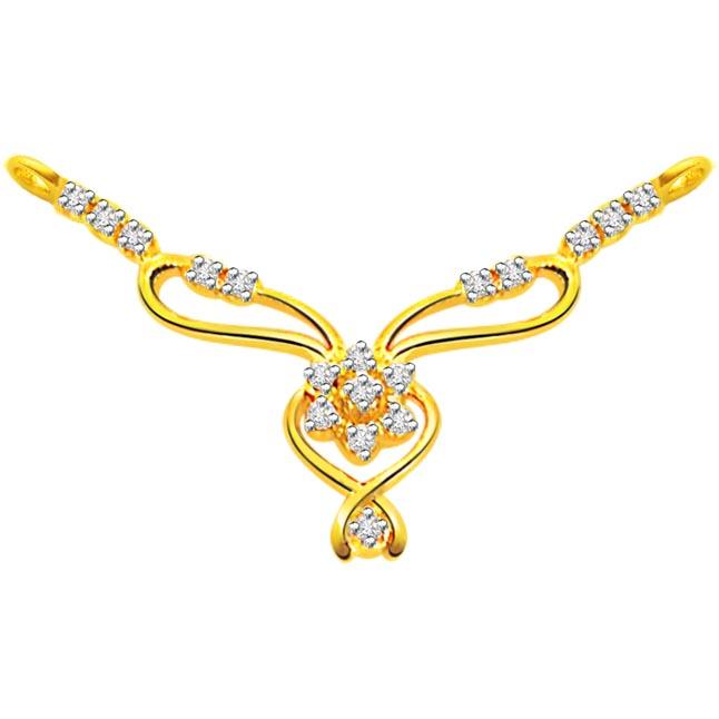 0.28 ct Diamond Necklace Pendants Necklaces