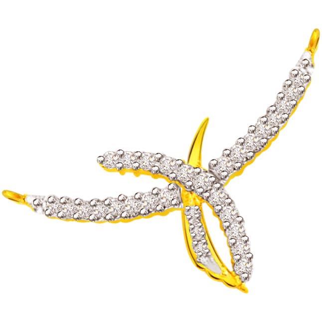 0.93 ct Diamond Necklace Pendants DN78