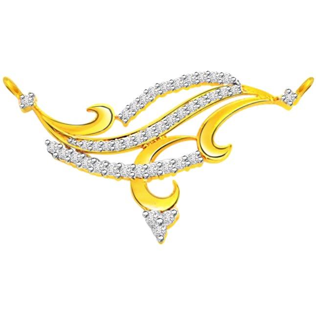 0.80 ct Diamond Necklace Pendants DN79