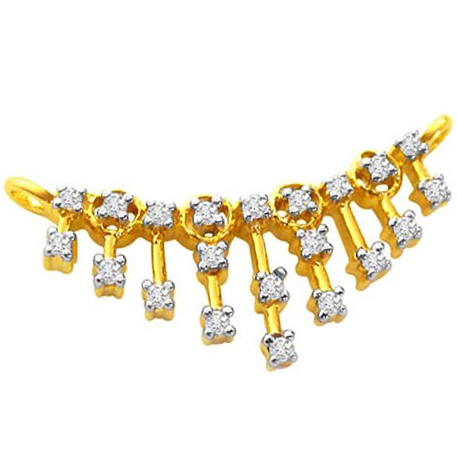 Beautiful Diamond Necklace Pendants Necklaces