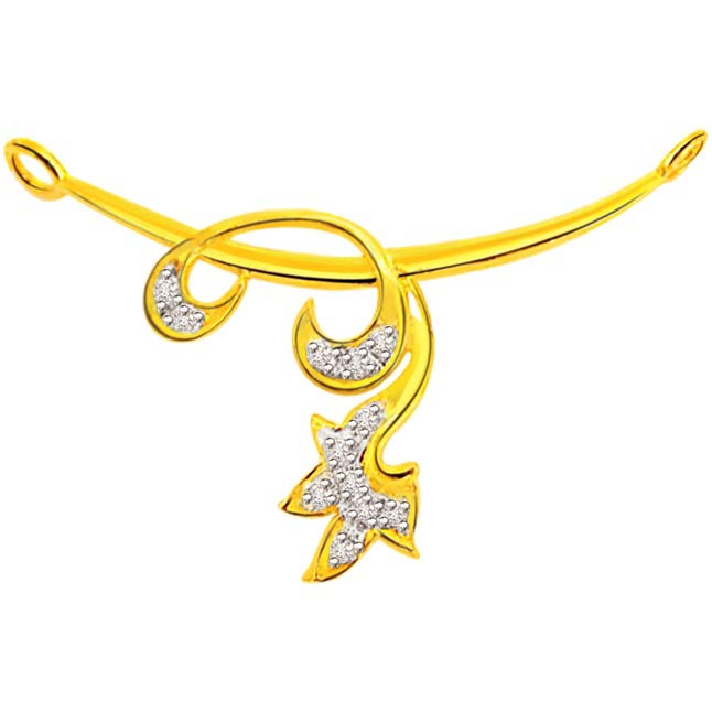 0.26 ct Diamond Necklace Pendants DN81