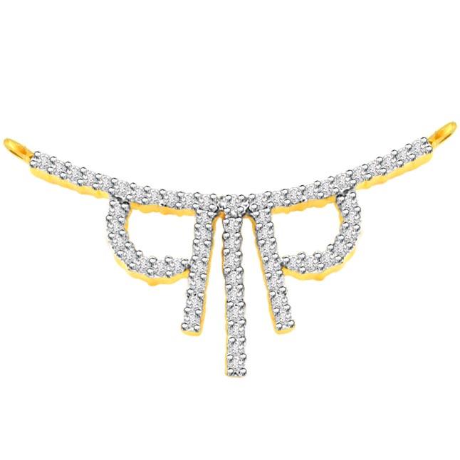 1.00 ct Diamond Necklace Pendants DN90