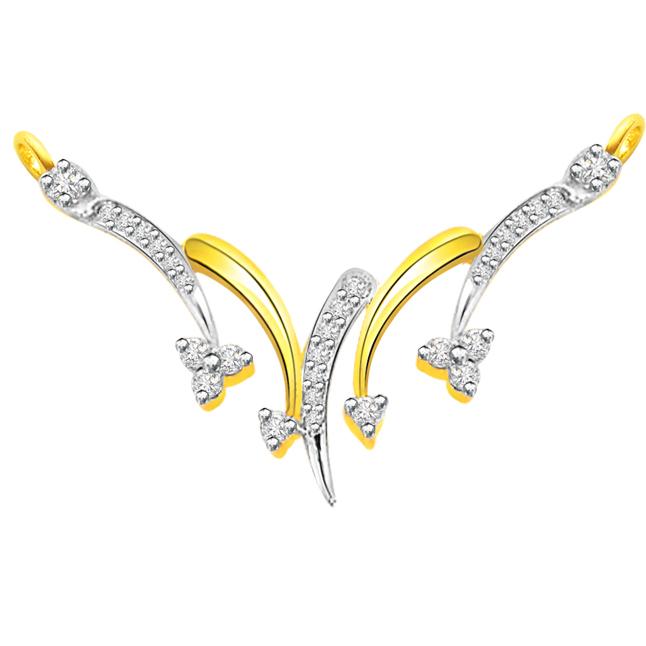 0.45 ct Diamond Necklace Pendants DN91