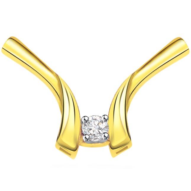 0.07 ct Diamond Necklace Pendants