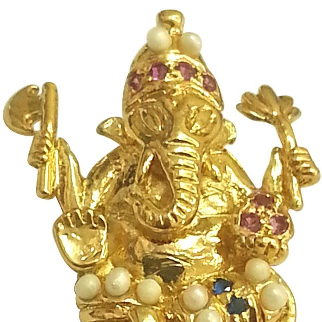 Ekadanta -Ganesh Pendants -Religious