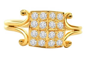 Elegant Diamond Embellishment