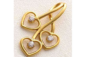 Elegant Heart Pendants