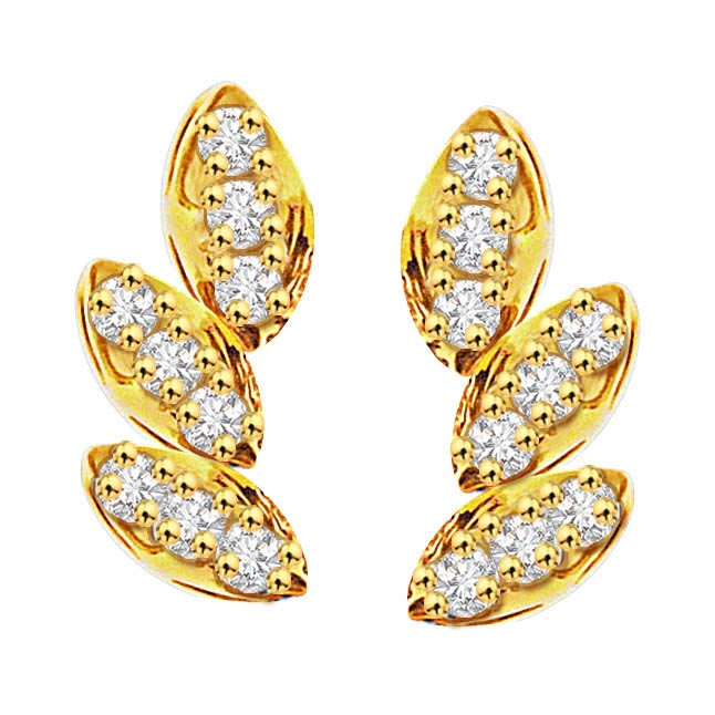 Classic n Chic Diamond Earrings -Designer Earrings