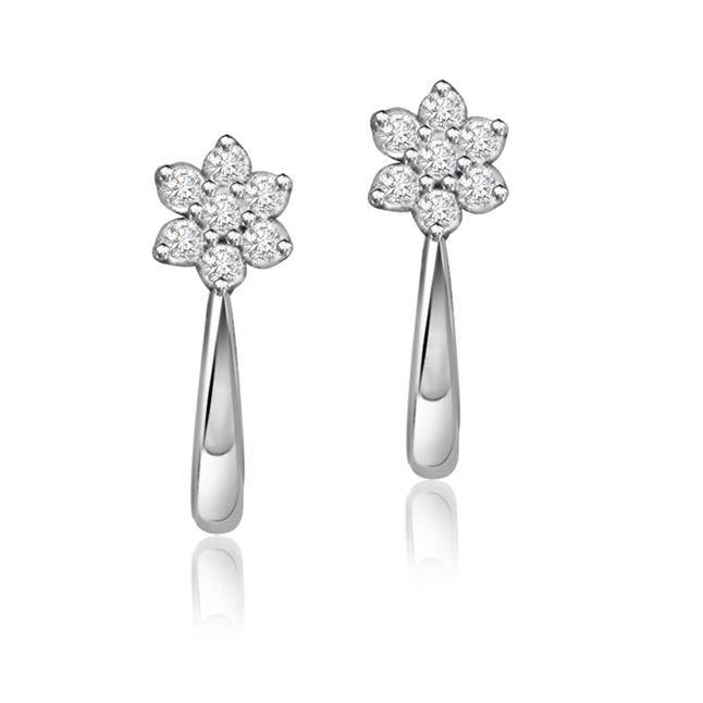 Adorably you ER -114 -Flower Shape Earrings