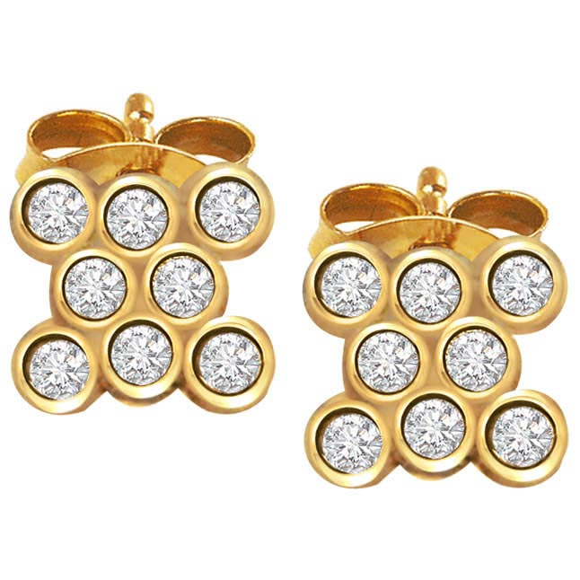 Studded Surprize -Designer Earrings