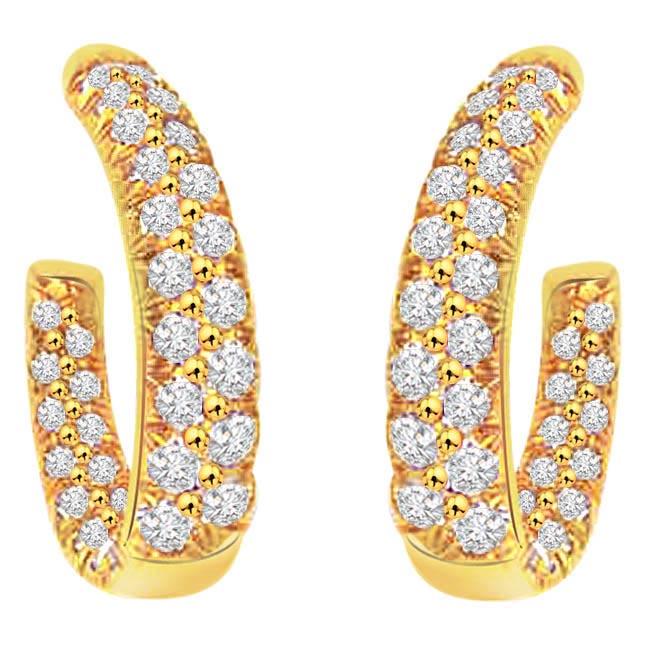 Charmer Earrings -Balis & Hoops