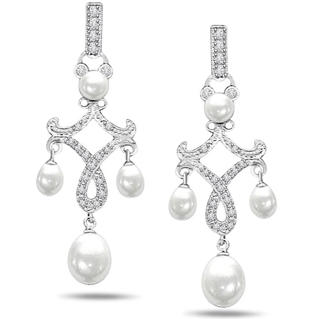 Bouncing Beauties Diamond Hangings Earrings
