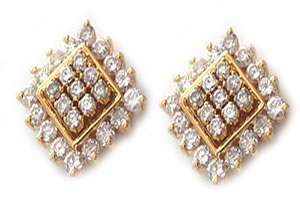 Customary n Conventional Earrings ER -18 -Geometrical