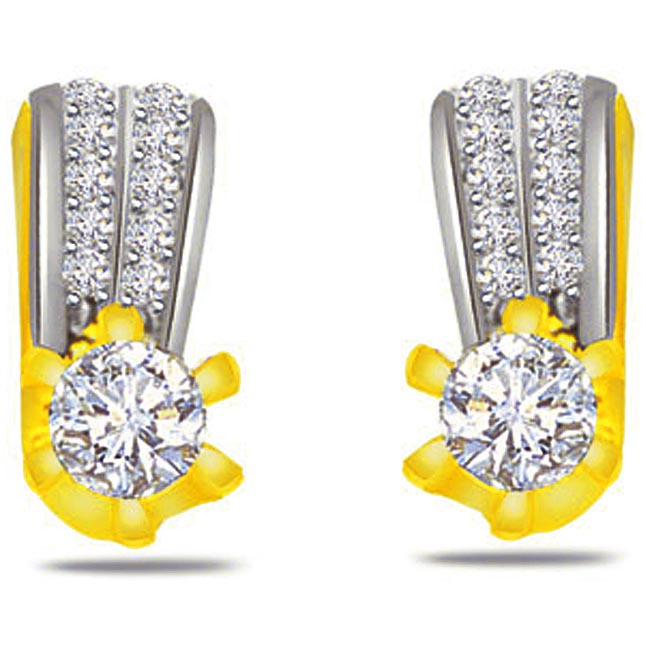 0.80ct Diamond Classic Earrings -Designer Earrings