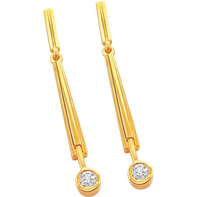 Divine Delight Diamond Earrings -Balis & Hoops