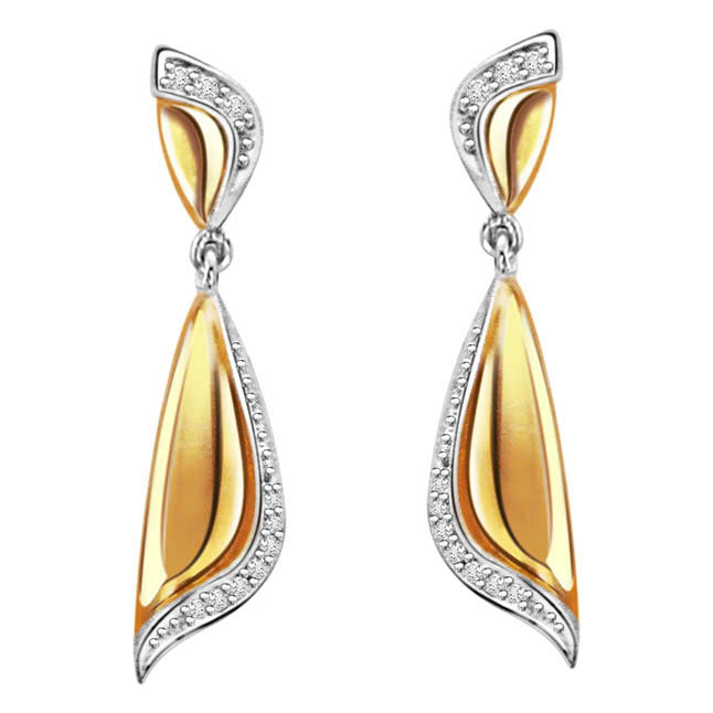 Radiance -diamond earrings