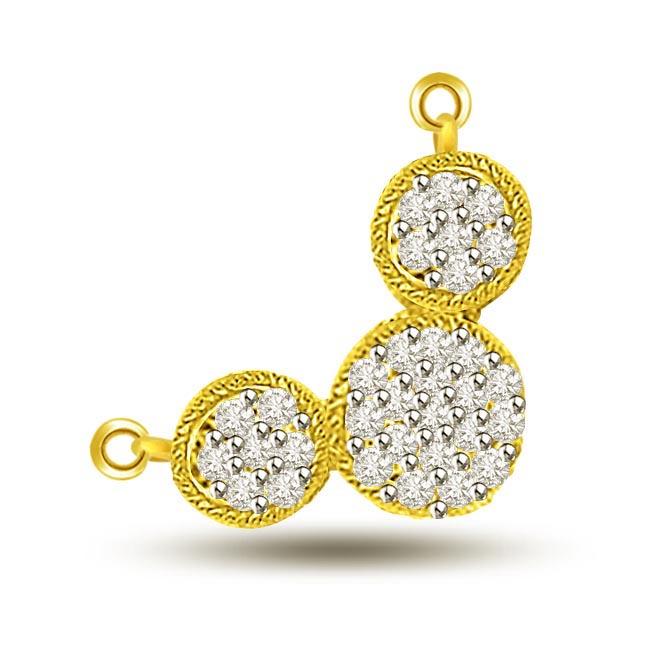Buy mangalsutra mangalsutra pendant online at best price surat eternal love in gold diamond mangalsutra pendants aloadofball Gallery