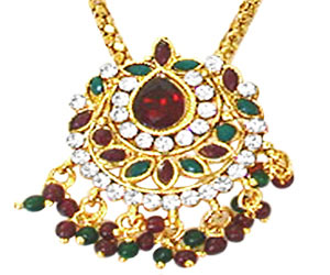 Fine Traditional Rajasthani Polki Set -Pearl Set