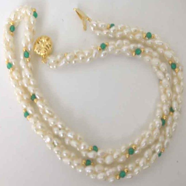 Glorious Elegance -Pearl Set