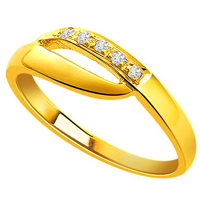 Really Romantic Gold n Diamond rings