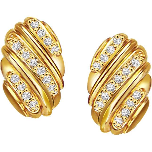 Golden Love Earrings -Balis & Hoops