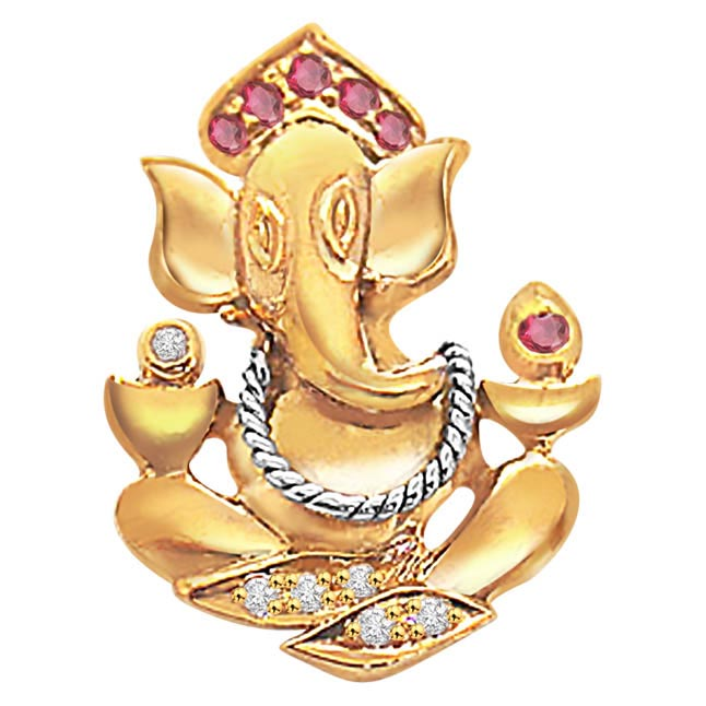 Graceful Ganesha -Religious Pendants