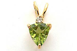 Green Souffle -Dia+Gemstone