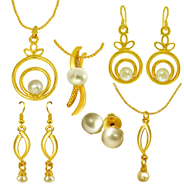 Contemporary Pearl Set -Pearl Set