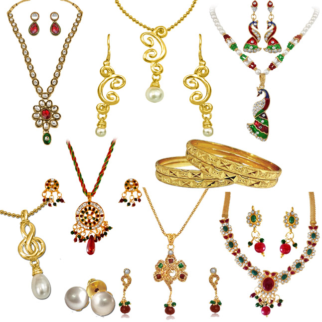 H1341 -8 Jewellery Set Hamper