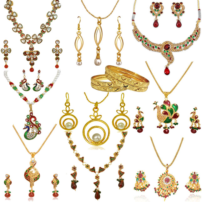 H1343 -10 Jewellery Set Hamper