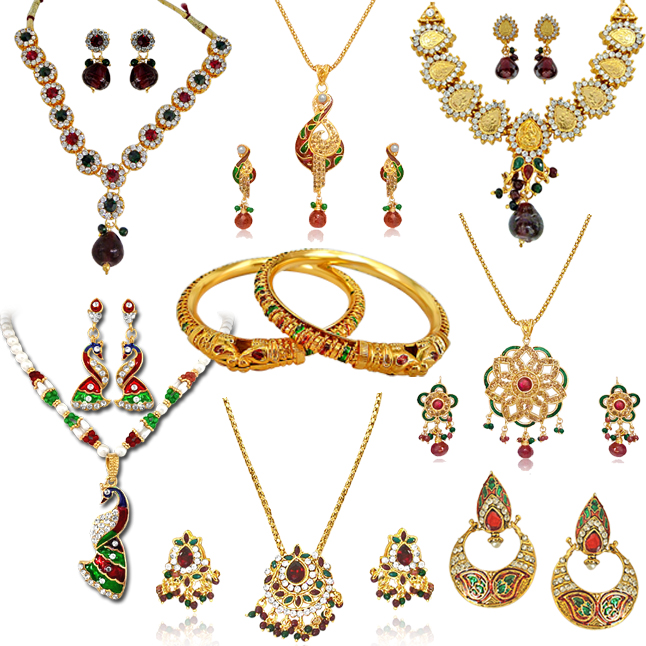 H1412 -8 Jewellery Set Hamper