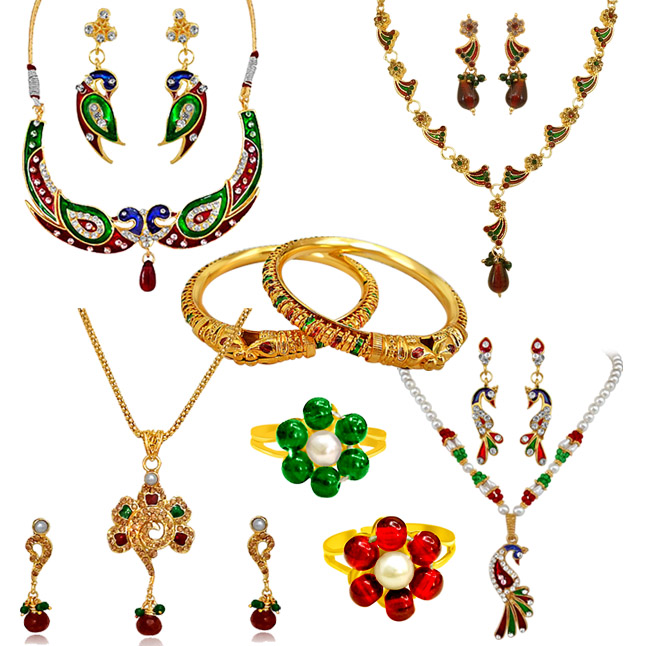 H1413 -6 Jewellery Set Hamper
