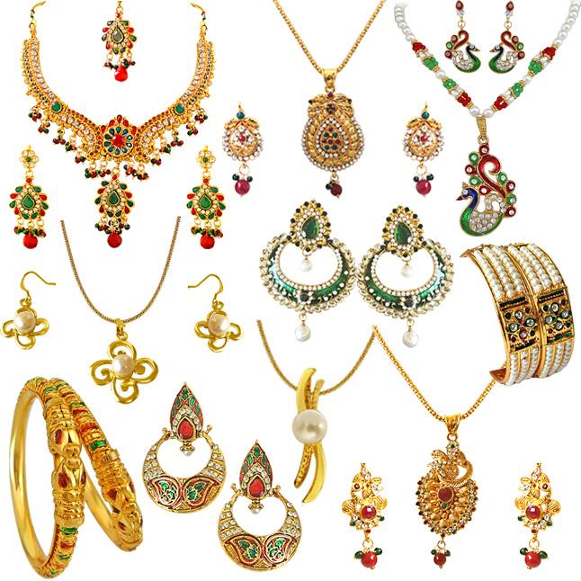 Ethnic Jewels -H1489
