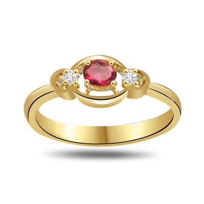 Happy In Heaven Diamond & Ruby Ruby in 18kt Gold