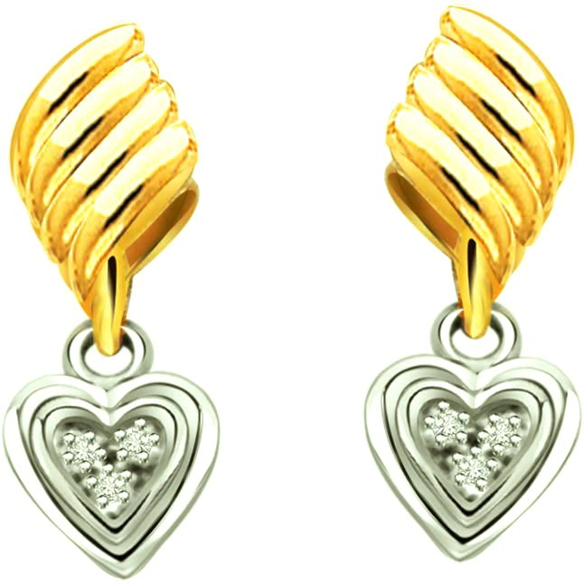 Hearty surprize -Heart Shape Earrings