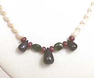 His Pretty Princess -Precious Stone Necklace